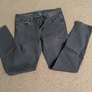 LOFT Gray Modern Skinny Jean, size 6